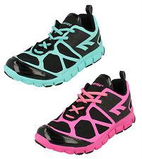Hi-Tec Kali XT Scarpe sportive donna NERO / rosa o / Menta UK 4-8 (R13B)