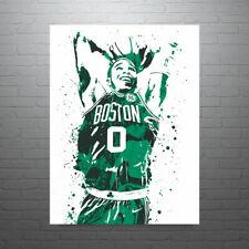Jayson Tatum Boston Celtics Poster FREE US SHIPPING