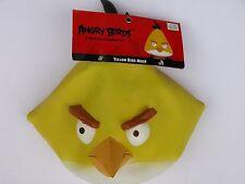 NWT NEW Halloween Costume Adult Angry Bird Mask Yellow Black