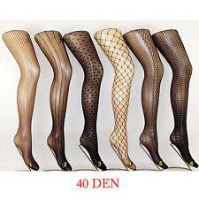 Strumpfhose sexy  Muster Neu 40 DEN (0237)