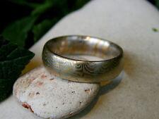 Unikat Ring Mokume Gane Gold 900 Platin 950 Trauring