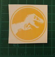 T-REX Jurassic Park Custom Vinyl Sticker Car Window BumpersTool Box Games
