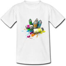 T-shirt Adulte Bombes de peinture - Graff - S au 2XL