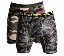 SD Pro Range Compression Shorts - Camo 2 Pack