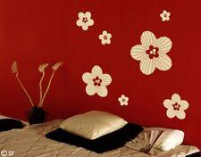 Wandtattoo Tattoo Blumen Blüten Streublüten uss193
