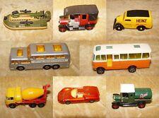 Vintage diecast cars bus avions-dinky corgi matchbox edocar-noël bargains