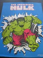 The Incredible Hulk,Rare 1979 Poster from Marvel Cadence Enterprise 17x22 PBX506