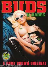 POSTER : MARIJUANA THEME : BUDS 'N BABES  - FREE SHIPPING ! #GN0069 LW10 E