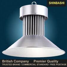 LED High Bay Light COB 30 50 70 100w Warehouse Commercial Industrial Lamp VAT UK