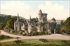 Poster, Many Sizes; Loewenburg Castle In Kassel 1890 Photochrom