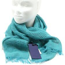 8557O sciarpa donna rete LES COPAINS BLUE sciarpe scarf women