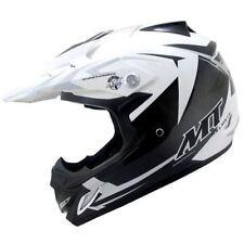 New MT Kids Motocross Quad Helmet DOT Approved Youth Child White BLACK S/M/L