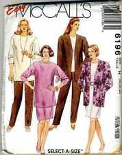 Top, Skirt, Pants & Jacket - Pattern - Sizes 40-42-44