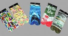 Odd Sox Mt Dew * Water Guns * Money * Shark * Valentines Crew Socks Mns 6-13 NWT