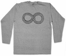 Ouroboros INFINITY Manica lunga T-shirt Uroboros Myths mitologia Snake Serpente