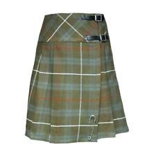 Tartanista Womans Weathered Look Fraser 20 Inch Wrap Knee Length Kilt Skirt