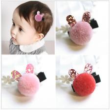 Le Ragazze Pom Pom per capelli clip con orecchie 1PC