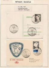 1953 GERMANIA BALLONPOST B/6290