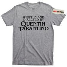 Quentin Tarantino Pulp Fiction Reservoir Dogs Kill Bill Django movie tee t shirt