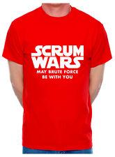 Rugby Problème Résolu Hommes Drôles T-shirt Union League Angleterre Écosse Pays de Galles