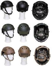 US HELM FAST Fallschirmjäger Rails ABS Kunststoffhelm Gefechtshelm Army Helmet