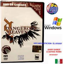 DANGEROUS HEAVEN PC DVD GAME DA GIOCARE NUOVO IN ITALIANO