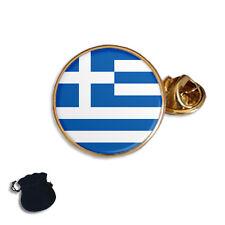 GREECE GREEK FLAG ENAMEL  LAPEL PIN BADGE GIFT
