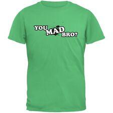 You Mad Bro? Irish Green Adult T-Shirt