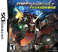 MechAssault: Phantom War (Nintendo DS, 2006)
