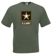 T-Shirt Military J508 Esercito degli Stati Uniti d'America U.S.Army Forze Armate