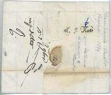 LOMBARDO VENETO -  BUSTA PREFILATELICA : VERONA 1834 - DATATA in ARRIVO a TRENTO