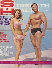 DEC 1969 STRENGTH & HEALTH vintage bodybuilding magazine CARL HAYWOOD