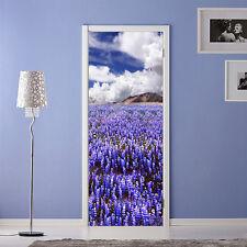3D lavender 234 Door Wall Mural Photo Wall Sticker Decal Wall AJ WALLPAPER CA