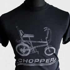 CHOPPER VÉLO NEUF T shirt Raleigh Grifter COOL rétro années 70 80 Vintage Noir