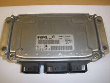 Original nuevo ECU Peugeot 206 1.6i 16V 0261206942 9638783480 NFU