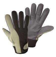 Gartenhandschuhe grau Arbeitshandschuhe waschbar Komforthandschuh Montage