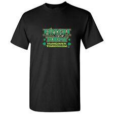IRISH TODAY HUNGOVER TOMORROW -St.Patricks Drinking Humor Funny Novelty T-Shirts