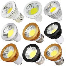 Dimmable LED Spotlight Bulb GU10 E27 MR16 6W 9W 12W Warm Neutral Cool White Lamp