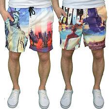 Soulstar Para Hombre Diseñador Shorts De Baño-disponibles en EE.UU. & Surf Print-BNWT