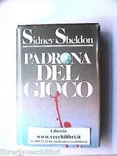 PADRONA DEL GIOCO ROMANZO DI SIDNEY SHELDON CDE GIALLO