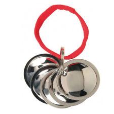 TRIXIE Trainings-Discs 5 Metall-Discs Verchromt am Nylonband Für Hunde