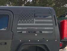 Jeep Liberty Distressed Flag Decal for Window USA American Flag 2007-2012 KK3