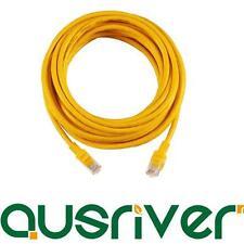 Yellow Colour 8M RJ45 CAT6E CAT6 CAT5E Ethernet LAN Network Cable 100M/1000Mbps