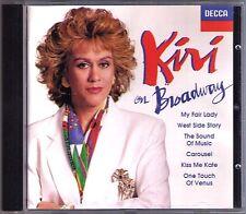 Kiri Te KANAWA: ON BROADWAY My Fair Lady Kiss me Kate Sound of Music Carousel CD