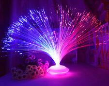 Lampade fibra ottica a luci notturne per lilluminazione da interno