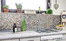 Naturstein Glas Mosaik braun beige gold Küchenrückwand Fliesenspiegel 82-1206_b