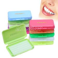 0.99$ /X  Dental Orthodontic Wax fit Relief Braces Gum Irritation 7 flavors USPS