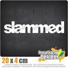 Slammed csf0119 20 x 4 cm JDM  Sticker Aufkleber