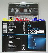MC RICCARDO COCCIANTE Ancora insieme MC1 1991 italy RCA PK 75084-1 cd lp dvd vhs