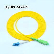 LC/UPC-SC/APC fiber patch cord jumper cable,3.0mm,3/5/10/15 Meters